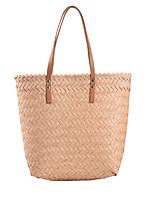 cheap -Women's Bags PU Leather Top Handle Bag Date Office & Career 2021 Blue Blushing Pink Gray Khaki