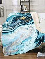 cheap -Cross-border Exclusive for Double Floor Thick Blanket 3D Digital Print Blanket Sofa Cover Blanket Square Blanket Flow Gold Collection