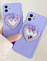 cheap -Phone Case For Apple Back Cover iPhone 12 Pro Max 11 SE 2020 X XR XS Max 8 7 Shockproof Dustproof Graphic Butterfly Heart TPU