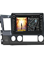 cheap -Android 9.0 Autoradio Car Navigation Stereo Multimedia Player GPS Radio 8 inch IPS Touch Screen for Honda Civic 2006-2011 1G Ram 32G ROM Support iOS System Carplay