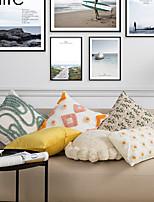cheap -nordic ins wind embroidery pillow sofa bedside cushion waist pillow tufted tassel bay window futon pillowcase wholesale