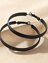cheap -Women's Drop Earrings Earrings Classic Birthday Simple Romantic Cowboy Sweet Earrings Jewelry Black For Wedding Gift Date Vacation Promise 1 Pair