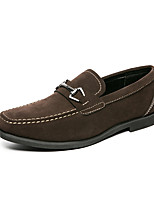 cheap -Men's Loafers & Slip-Ons Business Casual Classic Daily PU Breathable Green Black Brown Fall