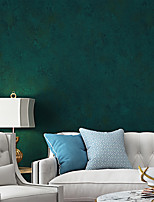 cheap -Wallpaper Wall Covering Sticker Film Embossed Solid Color Vinyl PVC Home Decor 53*1000cm