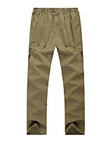 cheap -Men's Work Pants Hiking Cargo Pants Hiking Pants Trousers Winter Outdoor Windproof Ripstop Breathable Multi Pockets Pants / Trousers Bottoms ArmyGreen khaki Light Grey Black Fishing Climbing Running