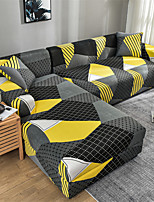 cheap -Sofa Cover Geometric / Neutral / Contemporary Printed Polyester Slipcovers