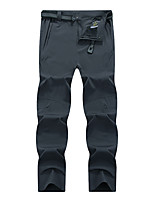 cheap -Men's Hiking Pants Trousers Outdoor Quick Dry Lightweight Breathable Multi Pockets Pants / Trousers Bottoms khaki Black Dark Gray Fishing Climbing Running L XL 2XL 3XL 4XL