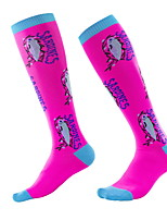 cheap -Comfort Sport Women's All Socks Solid Colored Stockings Socks Medium Sport Light Blue 1 Pair / Sport Socks / Athletic Socks / Casual Socks / Dress & Trouser Socks