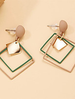 cheap -Women's Drop Earrings Earrings Classic Birthday Stylish Classic Holiday Korean Earrings Jewelry Gold For Wedding Gift Date Promise 1 Pair