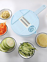 cheap -10-piece Multifunctional Vegetable Cutter Food Chopper Vegetable and Fruit Chopper Slicer Grater Environmental Protection Material with Hand Planer