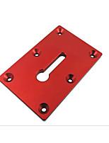 cheap -Forceps Fixing Mounting Plate Woodworking Desktop Fixture Plate Aluminum Alloy Forceps Fixing Fixture