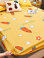 cheap -Waterproof bed accessory pure cotton bed cover dustproof cover 1.8m Simmons urine isolation pure color mattress protection cover