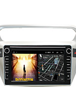 cheap -Android 9.0 Autoradio Car Navigation Stereo Multimedia Player GPS Radio 8 inch IPS Touch Screen for Peugeot301 1G Ram 32G ROM Support iOS System Carplay