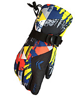cheap -Ski Gloves Snow Gloves for Men Thermal Warm Waterproof Windproof Woven TPU Full Finger Gloves Snowsports for Cold Weather Winter Skiing Snowsports Snowboarding