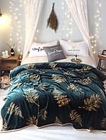 cheap -Bed Blankets, Damask Polyester Warmer Tassel Soft Blankets