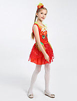 cheap -children's performance clothes princess dress dance dress skirt girl suit cosplay strawberry princess halloween kid