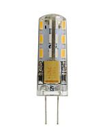 cheap -5pcs 1pc 1 W LED Bi-pin Lights 100 lm G4 24 LED Beads SMD 3014