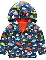 cheap -80-120cm cute dinosaur spring children coat autumn kids jacket boys outerwear coats active boy windbreaker baby clothes clothing 210810