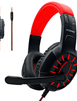cheap -M202 Gaming Headset 3.5mm Audio Jack PS4 PS5 XBOX Ergonomic Design Retractable Stereo for Apple Samsung Huawei Xiaomi MI  PC Computer Gaming