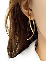 cheap -Women's Drop Earrings Earrings Jacket Earrings Simple Fashion European Trendy Earrings Jewelry Gold For Party Evening Gift Prom Date Birthday 1 Pair
