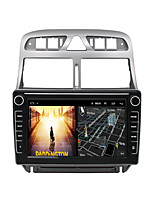 cheap -Android 9.0 Autoradio Car Navigation Stereo Multimedia Player GPS Radio 8 inch IPS Touch Screen for Peugeot 307 2007-2013 1G Ram 32G ROM Support iOS System Carplay