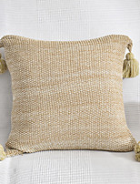 cheap -PillowCase Cotton Solid Color High Quality Home Office Knitting PillowCase Living Room Bedroom Sofa Cushion Cover