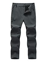 cheap -Women's Work Pants Track Pants Hiking Pants Trousers Military Winter Outdoor Waterproof Windproof Ripstop Breathable Elastane Bottoms Dark Grey Black Light Black Hunting Fishing Camping / Hiking