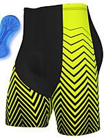 cheap -21Grams Men's Cycling Shorts Summer Spandex Bike Padded Shorts / Chamois Quick Dry Moisture Wicking Sports Green Mountain Bike MTB Road Bike Cycling Clothing Apparel Bike Wear / Athleisure