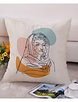 cheap -Double Side Cushion Cover 1PC Soft Decorative Square Throw Pillow Cover Cushion Case Pillowcase for Bedroom Livingroom Superior Quality Machine Washable Indoor Cushion for Sofa Couch Bed Chair