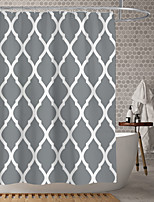 cheap -Waterproof Fabric Shower Curtain Bathroom Decoration and Modern and Classic Theme and Geometric.The Design is Beautiful and DurableWhich makes Your Home More Beautiful.