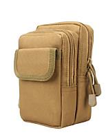 cheap -tactical molle pouch edc belt waist pouch small multipurpose 1000d nylon holster utility gadget gear tool bag (tan)