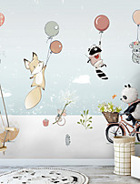cheap -Cartoon Wall Stickers Bedroom / Living Room Removable PVC Home Decoration Wall Decal 1pc 60*90CM
