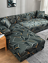 cheap -Stretch Sofa Cover Slipcover Elastic Sectional Couch Armchair Loveseat 4 or 3 seater L shape Geometric Print Soft Durable Washable