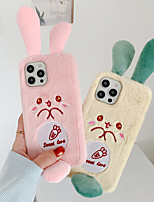 cheap -Phone Case For Apple Back Cover iPhone 11 Pro Max SE 2020 X XR XS Max 8 7 6 Shockproof Dustproof Cartoon Plush Plush