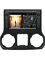 cheap -Android 9.0 Autoradio Car Navigation Stereo Multimedia Player GPS Radio 8 inch IPS Touch Screen for Jeep Wrangler 1G Ram 32G ROM Support iOS System Carplay