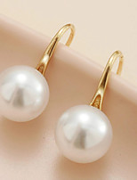 cheap -Women's Drop Earrings Earrings Classic Stylish Elegant Fashion Holiday Cool Pearl Earrings Jewelry Gold For Party Evening Formal Beach Promise Festival 1 Pair