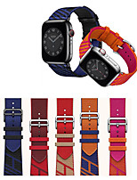cheap -Smart Watch Band for Apple iWatch 1 pcs Classic Buckle Weave Bracelet Nylon Replacement  Wrist Strap for Apple Watch Series 7 / SE / 6/5/4/3/2/1
