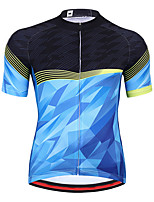 cheap -21Grams Men's Long Sleeve Cycling Jersey Spandex Red Blue 3D Bike Top Mountain Bike MTB Road Bike Cycling Quick Dry Moisture Wicking Sports Clothing Apparel / Athleisure