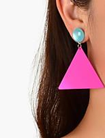 cheap -Women's Drop Earrings Earrings Classic Wedding Birthday Stylish Classic Trendy Korean Sweet Earrings Jewelry Rose Red For Wedding New Baby Gift Date Promise 1 Pair