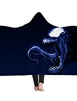 cheap -New Style Hooded Blanket Cloak Hooded Blanket Household Blanket Children Blanket Thick Blanket Venom Series