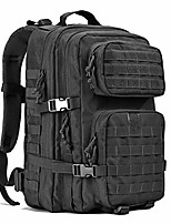 cheap -45l large military tactical backpack for camping hunting hiking highland molle bag laptop backpack army rucksack (black)