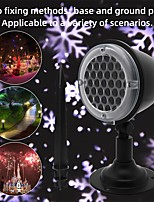 cheap -Projector Light Garden Lights Remote Controlled Laser Light Projector Waterproof Projector Christmas Party Outdoor White+Purple
