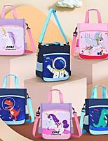 cheap -Children Kawaii Crossbody Backpack Dinosaur unicorn Pattern Kids Hand Bags For Girls Large Capacity Tote Schoolbag