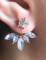 cheap -Women's Stud Earrings Geometrical Flower Fashion Earrings Jewelry Gold For Christmas Party Wedding Daily Work