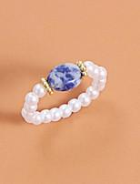 cheap -Ring Classic Royal Blue Imitation Pearl Natural Elegant Fashion 1pc One Size / Women's