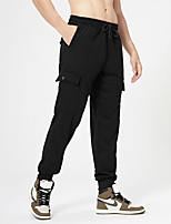 cheap -Men's Stylish Casual / Sporty Comfort Breathable Pants Daily Sports Pants Camouflage Full Length Pocket Print ArmyGreen Grey Khaki Black