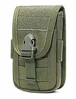 cheap -tactical molle phone pouch waist bag holster bag edc utility gadget belt waist pack pocket organizer (green3)