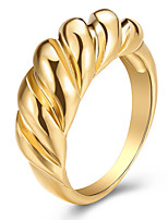 cheap -Ring Geometrical Gold Alloy Stylish Simple Vintage 1pc 8