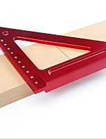 cheap -150mm Aluminum Alloy Triangular Ruler Woodworking Triangular Ruler Right Angle Ruler Woodworking Auxiliary Tools Woodworking Measuring Tools