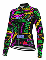cheap -21Grams Women's Long Sleeve Cycling Jersey Spandex Black Bike Top Mountain Bike MTB Road Bike Cycling Quick Dry Moisture Wicking Sports Clothing Apparel / Stretchy / Athleisure